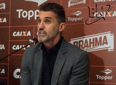 Mancini lamenta revés e evita criticar Neilton: 'Errar faz parte do jogo'