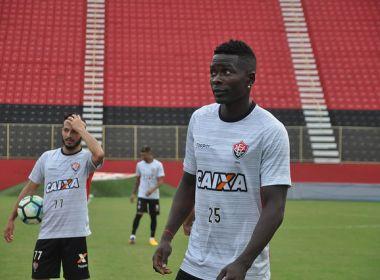 Kanu celebra tempo livre do Vitória para treinar: 'Temporada desgastante'