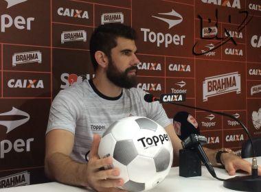 Fernando Miguel espera que Vitória 'se reinvente' diante do Atlético-MG