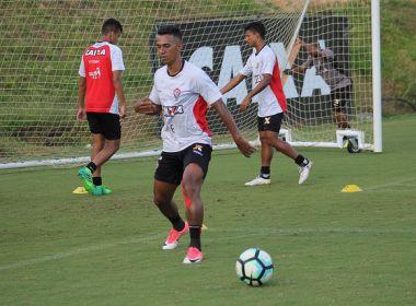 Vitória faz penúltimo treino antes de encarar o Sport