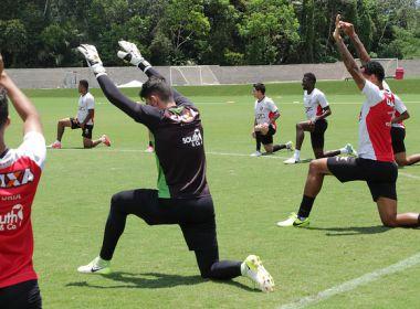 Com treino único, Vitória encerra preparação para pegar o Cruzeiro
