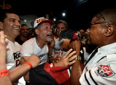 Novo presidente do Vitória, Ricardo David comemora: 'Me prepararei para isso'