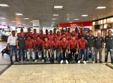 Sub-20 do Vitória do embarcou nesta terça-feira para Indaiatuba onde jogará a Copinha
