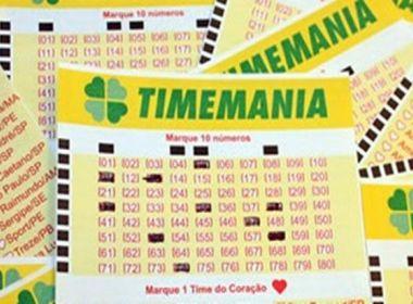 Bahia segue como líder de arrecadação do Nordeste na Timemania; Vitoria é o 3º