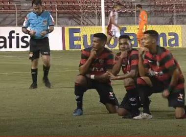 Vitória goleia o Ituano e passa de fase na Copa São Paulo de Futebol Júnior