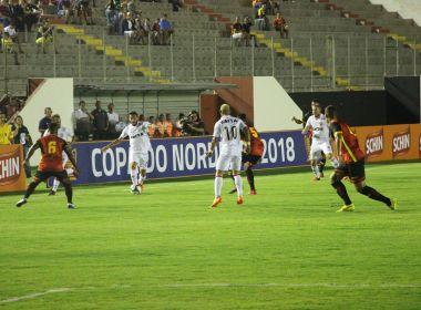 Vitória estreia na Copa do Nordeste com triunfo sobre o Globo-RN
