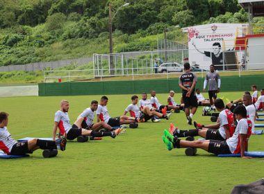Delegação do Vitória chega a Salvador nesta quarta; atletas ganham folga até quinta
