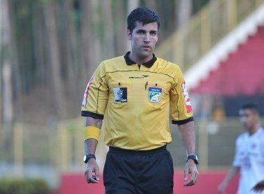 Diego Pombo Lopez comanda duelo entre Vitória e Juazeirense