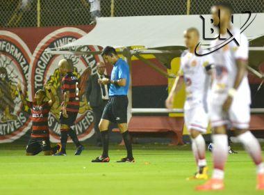No apagar das luzes, Vitória arranca empate contra a Juazeirense na estreia do Baianão