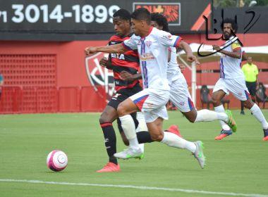 Com golaço de Denílson, Vitória bate Bahia de Feira e segue na liderança do Baianão