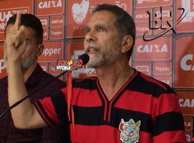Ricardo David reforça apoio a Mancini e ignora leitura labial: 'Feita por torcedor do Bahia'