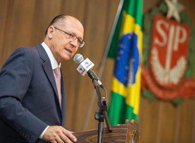 'O Lula é o retrato do PT, partido envolvido em corrupção', diz Alckmin