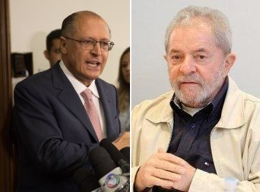 "INSTITUTO LULA PEDE ALCKMIN EXPLIQUE ""DESVIO"" NO ESTADO"