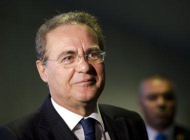 Renan não responde se ficará na presidência do Senado se virar réu em denúncia