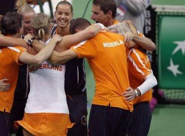 Holanda confirma zebra e elimina Rússia na Fed Cup