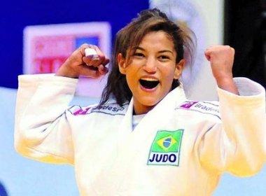 Medalhista em Paris, Sarah Menezes sobe para 3º lugar no ranking do judô