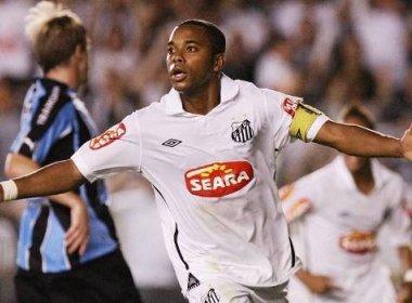 Santos anuncia fim das negociações para contratar Robinho