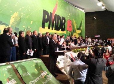 Dirigente diz que PMDB vai romper com o governo
