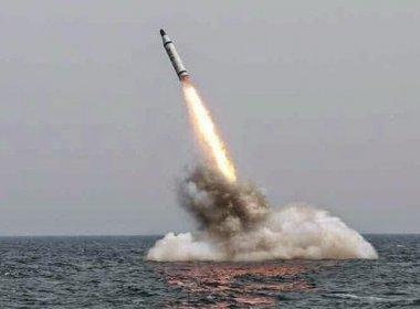 Coreia do Norte disparou míssil balístico submarino, afirma Seul