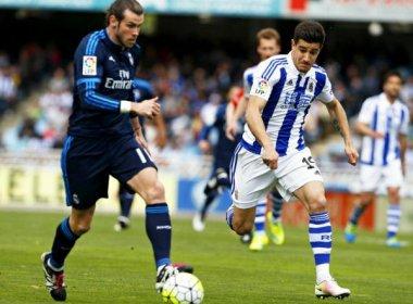 Bale resolve e Real Madrid segue na briga pelo título espanhol com vitória fora