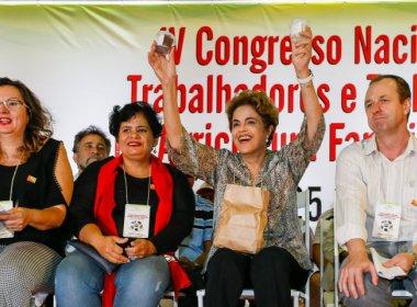 Dilma diz que gravação de Jucá deixa evidente caráter golpista do impeachment