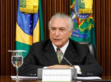 Após encontro com Gilmar Mendes, Temer permanece em Brasília sem agenda pública