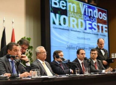 Governadores do Norte e NE formalizam em carta a Temer pedido de ajuda financeira