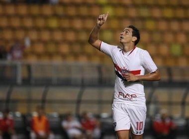 São Paulo anuncia venda do meia Ganso para o Sevilla