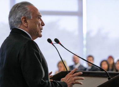 Temer é recebido com aplausos e 'Fora Temer' em inauguração no Rio de Janeiro