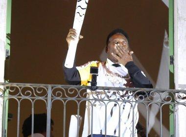 Pelé diz fazer fisioterapia para participar do encerramento da Olimpíada