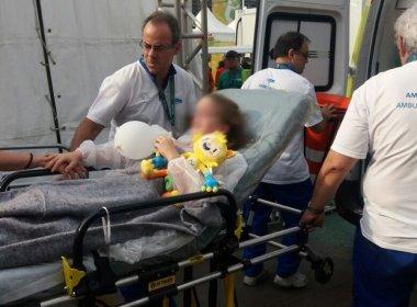 Rio 2016: Duas crianças estão entre 7 feridos por queda de câmera de TV no Parque Olímpico
