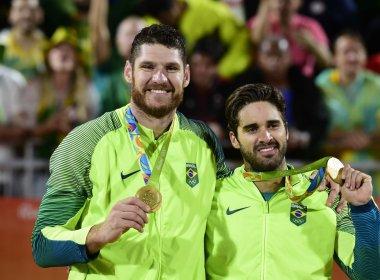 Alison e Bruno reforçam parceria com ouro no Rio e aprendem nas dificuldades