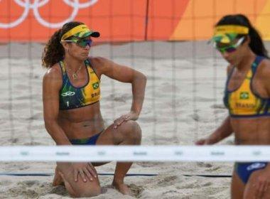 Larissa e Talita perdem nas quartas e são eliminadas em Long Beach
