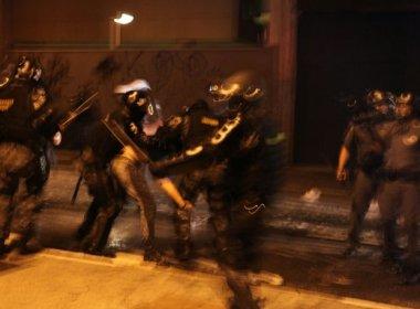 Protesto em SP termina em confronto entre PM e manifestantes
