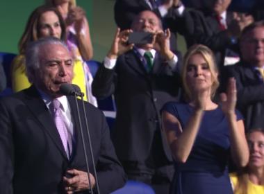 Inclusão e vaias a Temer marcam cerimônia de abertura da Paralimpíada do Rio-2016