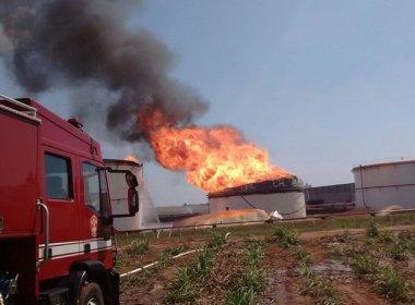 Incêndio em usina de etanol no interior de São Paulo dura mais de 24 horas