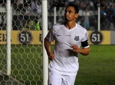Com lesão, Ricardo Oliveira desfalca o Santos contra Vasco e Sport