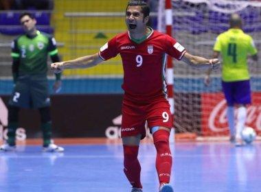 Pentacampeão no futsal, Brasil é eliminado pelo Irã nas oitavas do Mundial