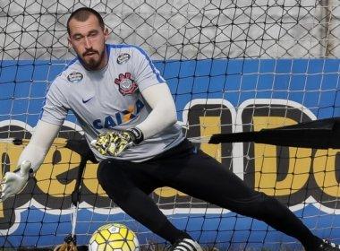 Goleiro Walter nega rivalidade com Cássio no Corinthians