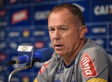 Mano faz mistério, mas admite mudanças no Cruzeiro por causa do desgaste físico