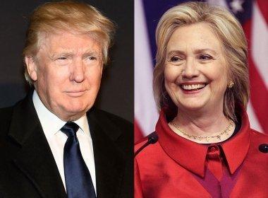 Pesquisa aponta Hillary a frente de Trump por 15 pontos