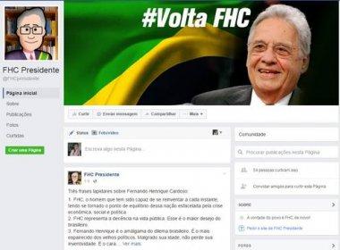 Aliado lança campanha por FHC na Presidência