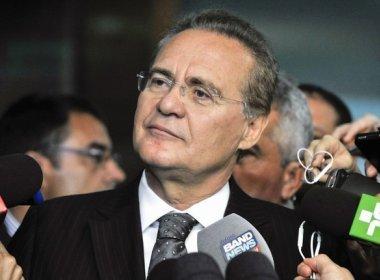Renan: presidente do Senado não é réu e não é afetado por manifestação do STF