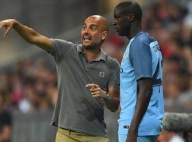 Para recuperar espaço no Manchester City, Yaya Touré pede desculpas a Guardiola