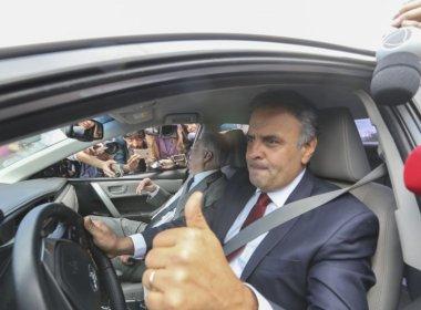 Aécio teria articulado urgência de pacote anticorrupção e abandonado Renan