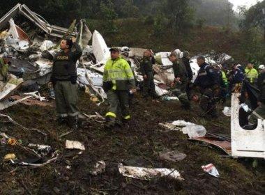 Investigações sobre causas do acidente da Chapecoense devem durar seis meses