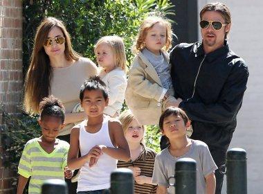 Angelina Jolie e Brad Pitt chegam a acordo de custódia dos filhos