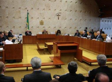 Deputados querem punir atuação do STF