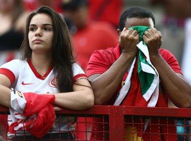 Internacional só empata com o Fluminense e está rebaixado à Série B