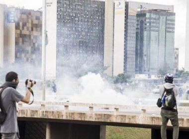 Detidos em manifestação poderão ser enquadrados na lei antiterrorismo